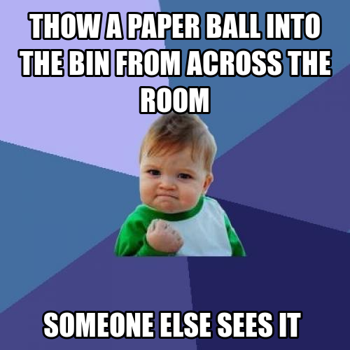 ball in bin