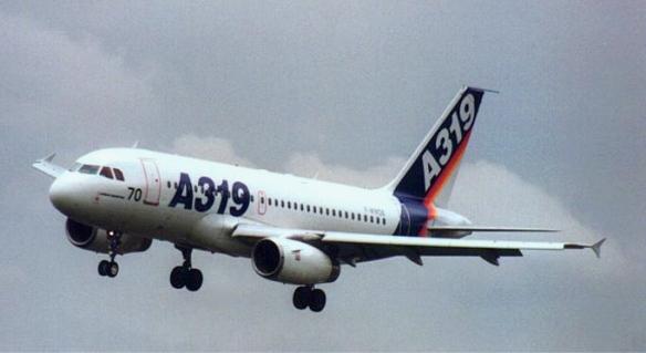 a319 plane