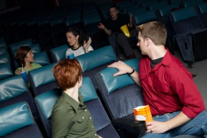 cinema talking