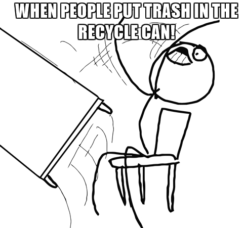 recycle-rage